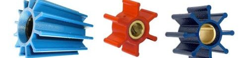 Blue en Red Impellers